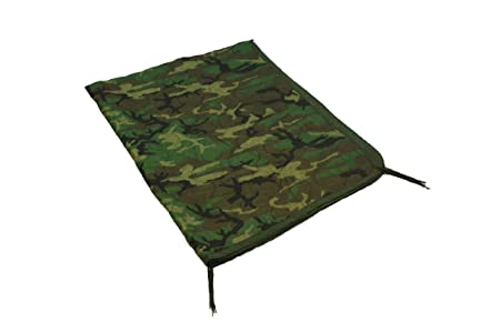 US Military Poncho Liner, Woodland Camo