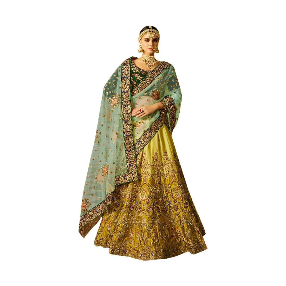 Wedding Bollywood Designer Bridal Collection Lehenga Choli Dupatta Custom to Measure Muslim 973