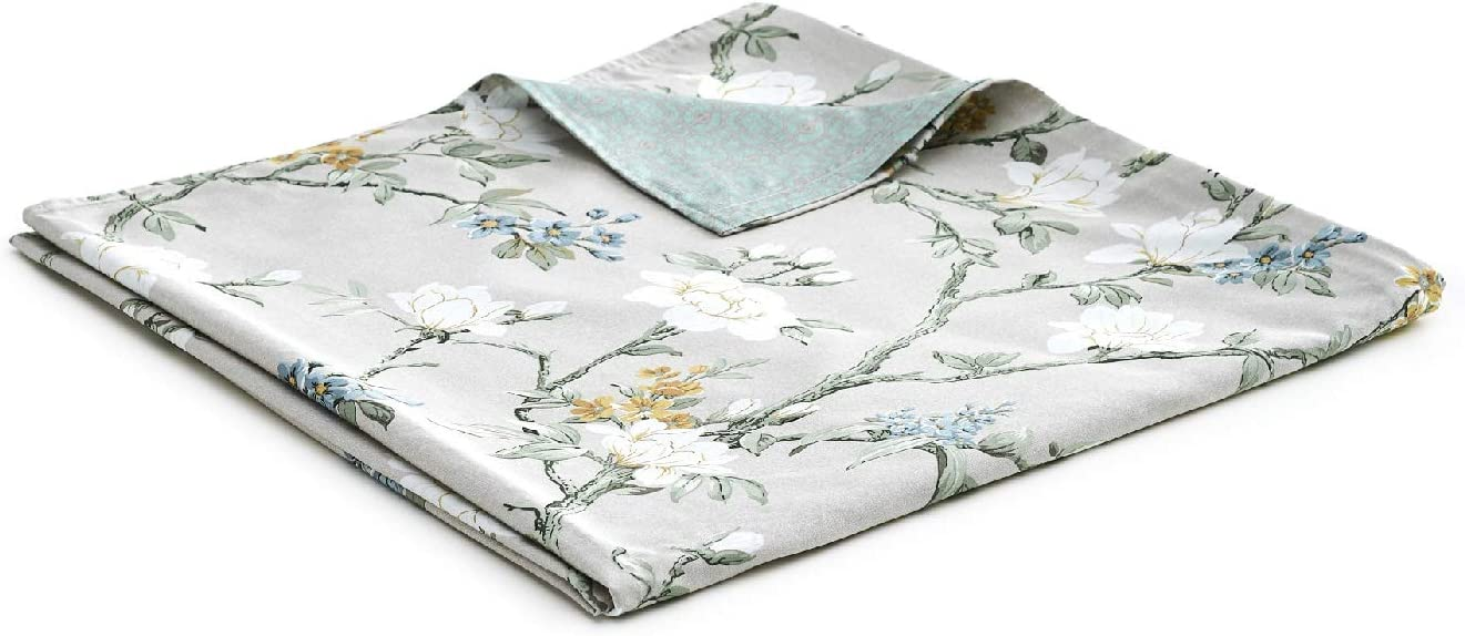 YnM Cotton Duvet Cover for Weighted Blankets (Magnolia, 60''x80'')