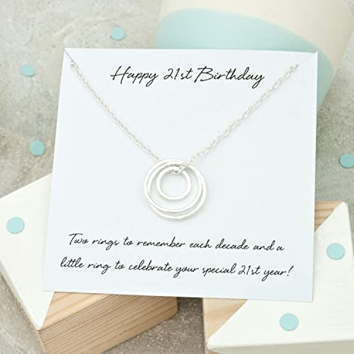 Image Unavailable Not Available For Colour 21st Birthday Necklace