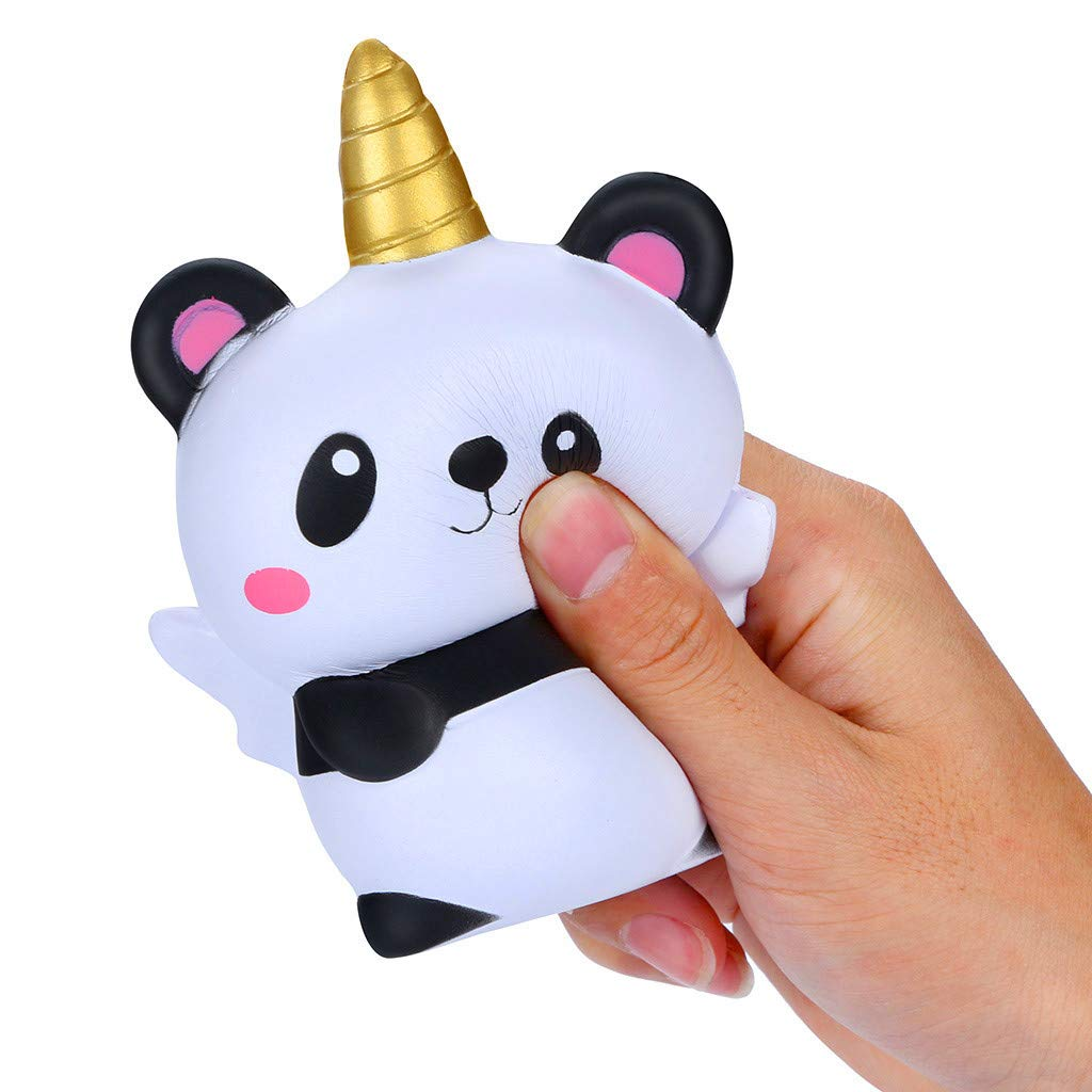 DIGOOD Kawaii Squishies Toys Cartoon Animals Rising Cream Scented Stress Relief Toy Phone Pendant