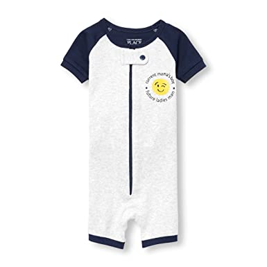 65d9f65519 Amazon.com  The Children s Place Baby Boys Blanket Sleepers  Clothing