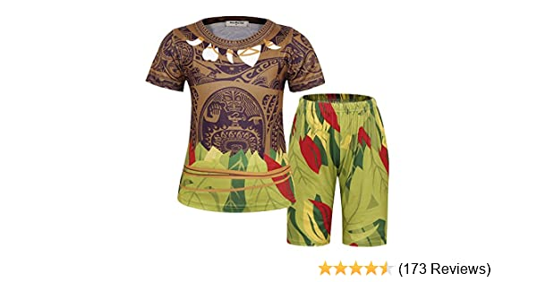 Jurebecia Cartoon Costume Role Play for Little Boys Long Pajamas Kids Toddler Sleepwear Birthday Party Outfit 2-10 Years