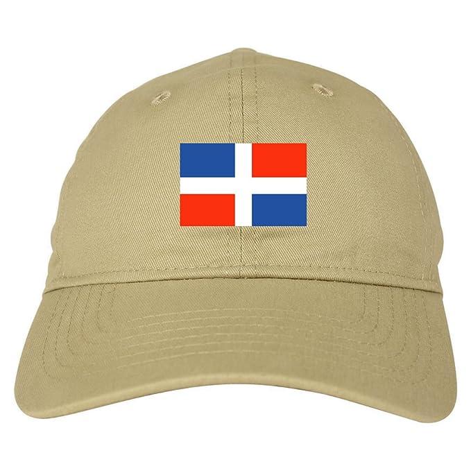 Amazon.com  Dominican Republic Flag Country Chest Dad Hat Baseball ... a3bd65b92cc