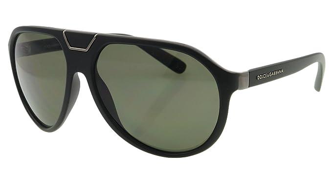 348b1f2cb7f9 D G Dolce   Gabbana Men s 0Dg6071 Aviator Polarized Sunglasses