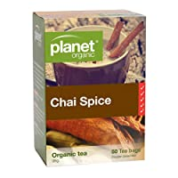 Planet Organic, Organic Chai Tea Bags, 50 Pieces