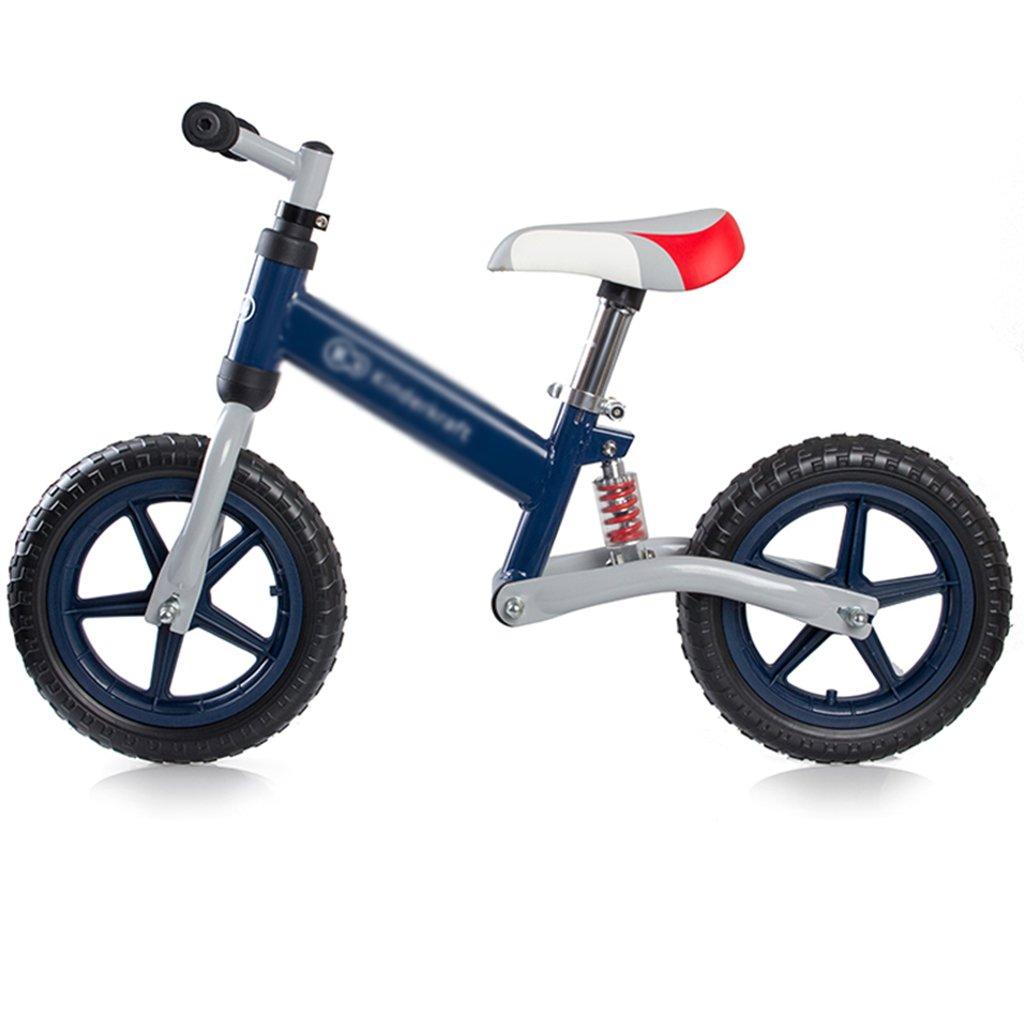 最先端 自転車の子供のバランスベビー幼児ウォーカーバランスの自転車2-6調整可能なシートのハンドルバースプリングショックアブソーバ (Color : Blue, Size 55*87cm : B07GX8H1WC 55*87cm) 55 (Color*87cm Blue B07GX8H1WC, 菖蒲町:9c33f5f1 --- arianechie.dominiotemporario.com