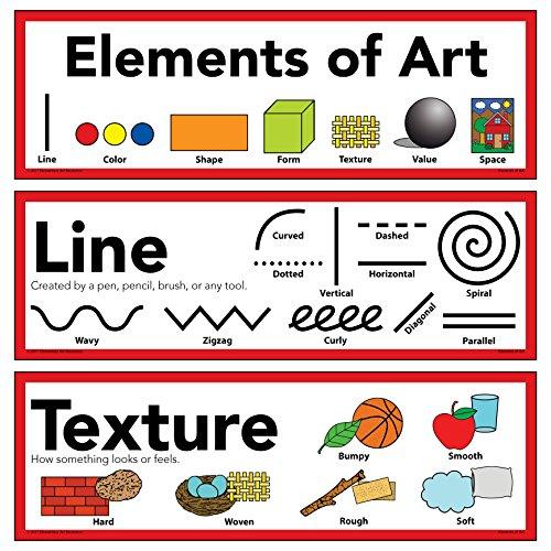 All Elements Of Art : Elements of art principles design poster quot