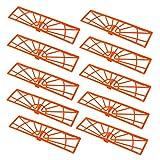 HQRP Filter (10 Pack) for Neato BotVac D70E, D75, D80, D85 D Series