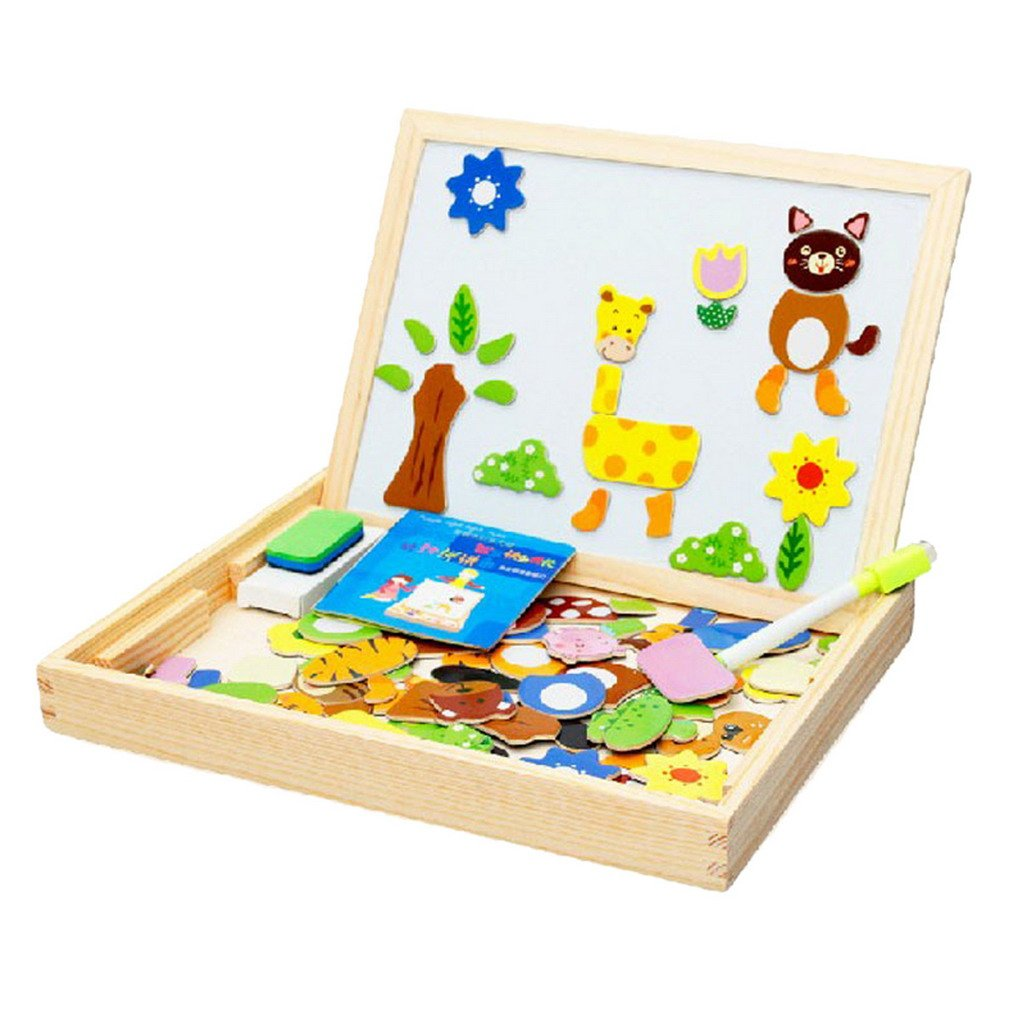 30%OFF Happy cherry - Caja de Pizarra Puzzle Magn¨¦tico Tablero de ...