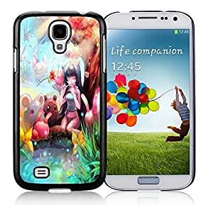 Beautiful DIY Designed With Charmer Cover Case For Samsung Galaxy S4 I9500 i337 M919 i545 r970 l720 Black Phone Case CR-114