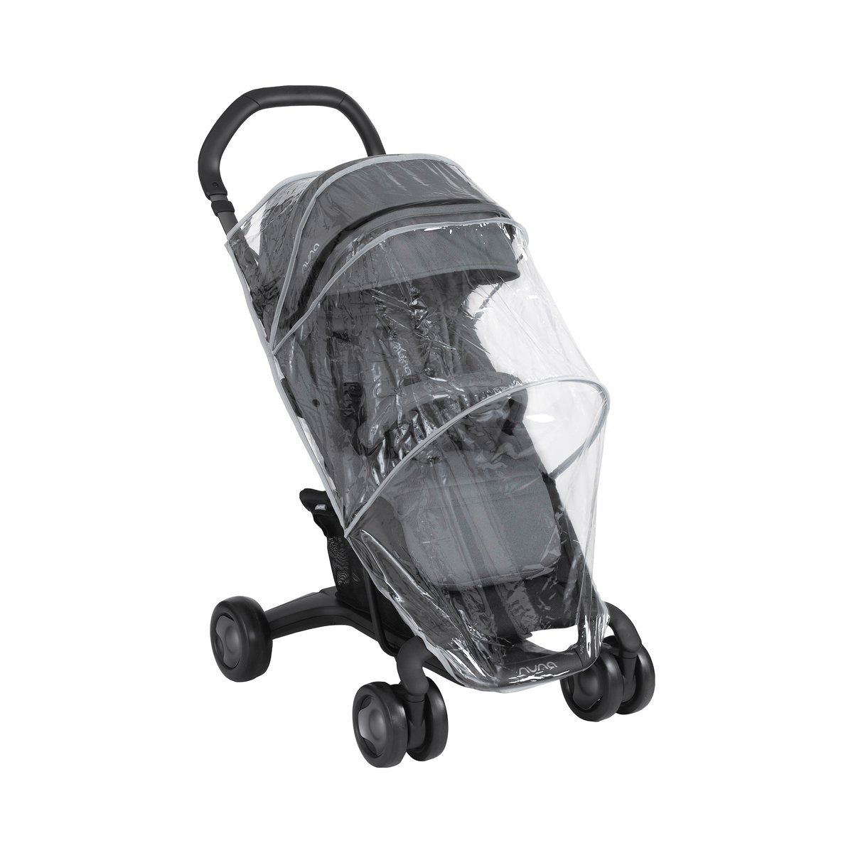 NUNA–Pack pluie Nuna Pepp pour chaise de Promenade transparente