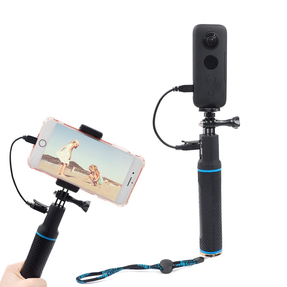 STARTRC Sport Camera Selfie Stick,Handheld Portable Charging Treasure Power Selfie Stick for Insta360 ONE X/EVO