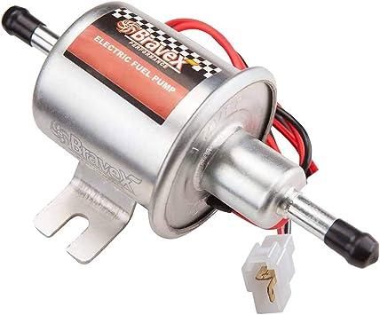 Universal 12V Electric Fuel Pump Cars Gas Diesel Low Pressure HEP-02A 2.5-4 PSI