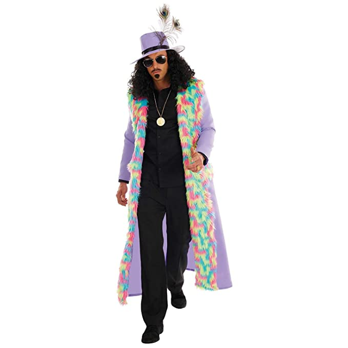 70s Costumes: Disco Costumes, Hippie Outfits Mens Pimp Costume Adults 1970s Disco Stag Night Fancy Dress Outfit $39.99 AT vintagedancer.com