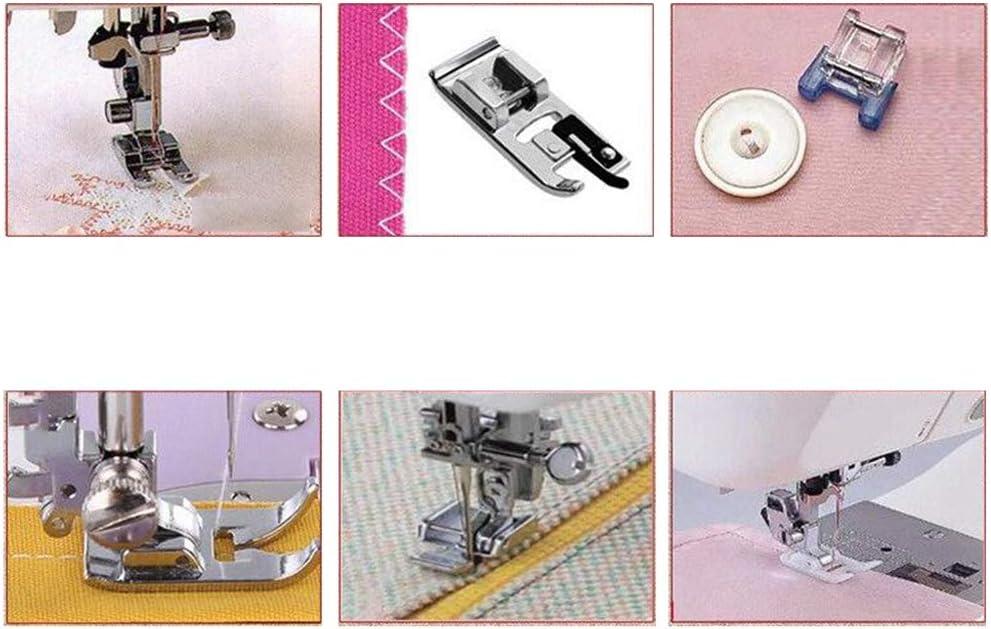 Xinlie Kit Prensatelas Universal Multifuncional Pie de Maquina de ...