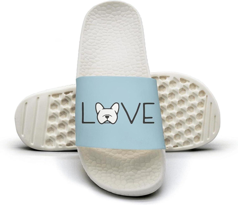 Boston Terrier colorful dog print Summer Slide Slippers For Men Women Kid Indoor Open-Toe Sandal Shoes