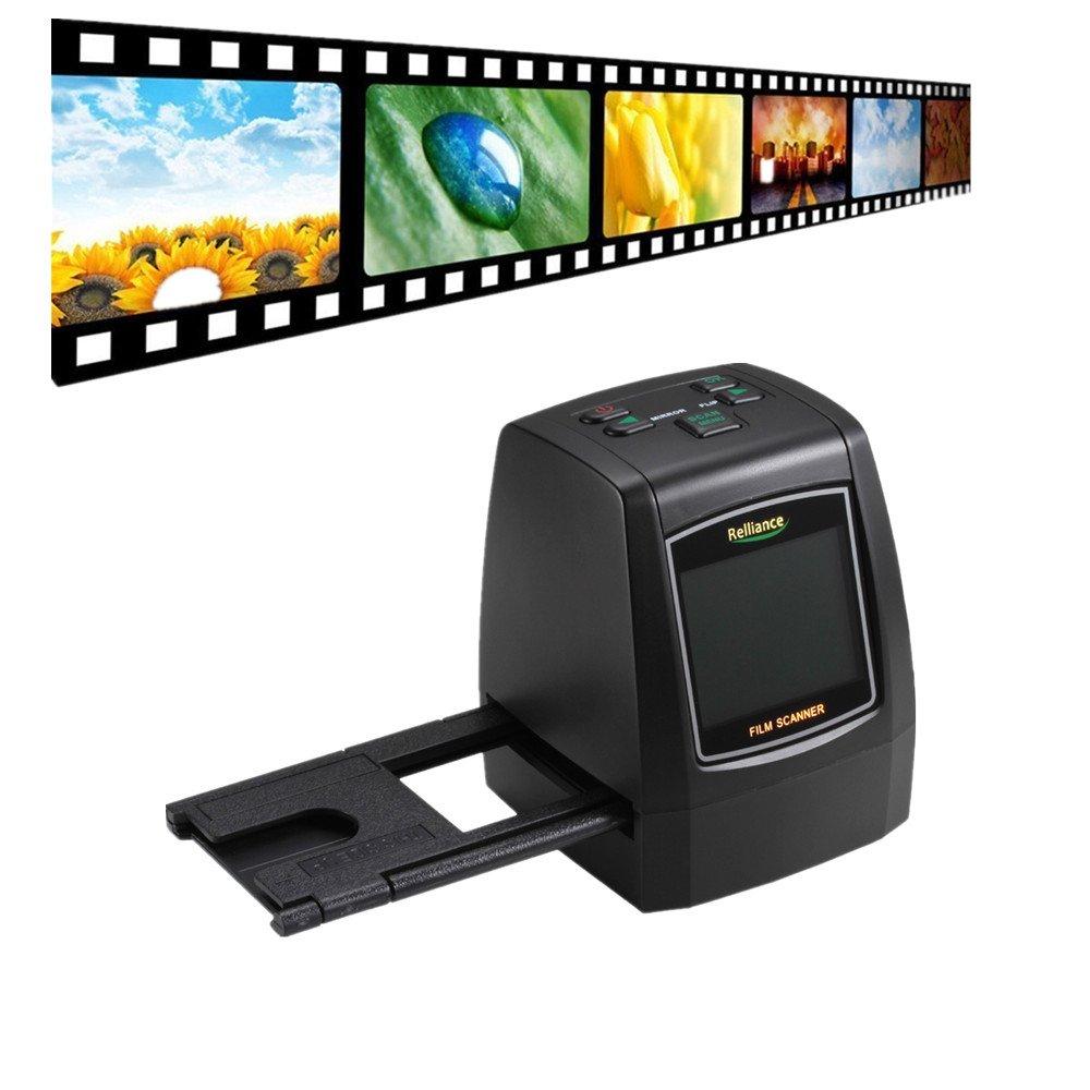 Film Slide VIEWER Scanner, TechCode Film Slide VIEWER Scanner 14.0 Mega pixels Negative Film Slide VIEWER Scanner USB Digital Color Photo Copier(Without SD Card, SMYC018)