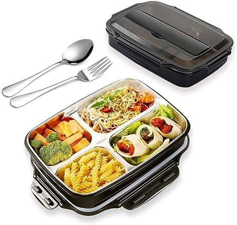 Edelstahl Mittagessen Boxen Bento Box Ohne Löffel Und Stäbchen