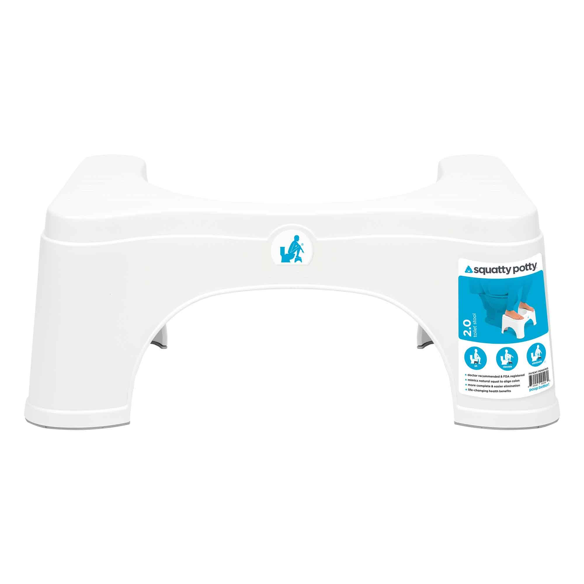 Squatty Potty Original Toilet Stool - 2.0 Base 7'' by Squatty Potty