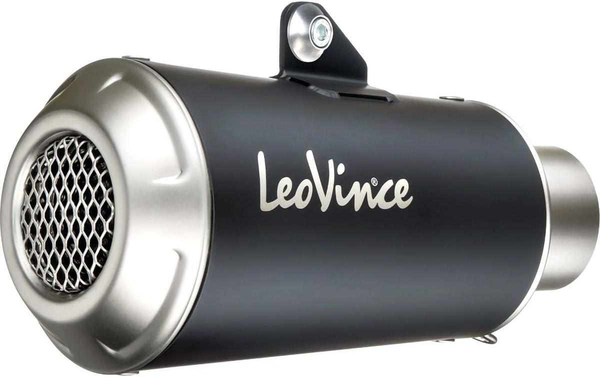 Leo Vince LV-10 Slip-On Exhaust (Black Ceramic) for 18-20 Kawasaki ZR900RS