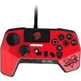 Street Fighter V FightPad PRO - Rouge Ken pour PS4/PS3