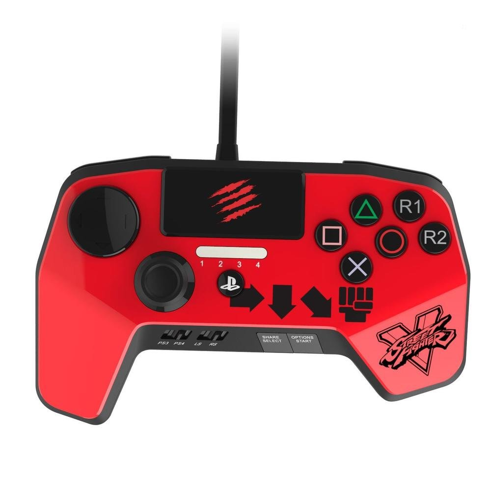 Street Fighter V FightPad Pro - KEN für PS4 und PS3: Other Platform ...