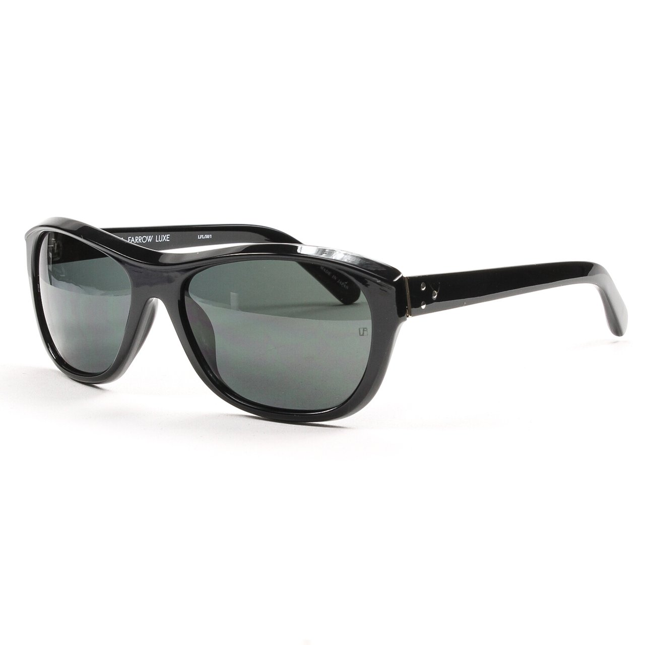 6df3cac59e1 Linda Farrow Luxe LFL 58 Sunglasses C1 Black Frame   Black Lenses  Linda  Farrow  Amazon.co.uk  Clothing