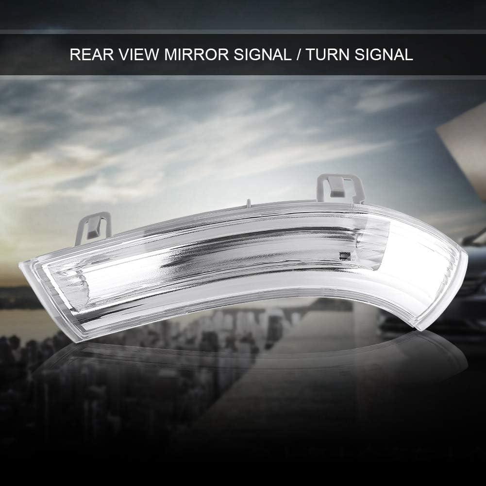 Espejo retrovisor del coche Luz de se/ñal de giro Indicador de espejo de ala derecha Indicador de espejo de ala derecha Indicador de giro Indicador de espejo de ala de bombilla para MK5 1K0949102