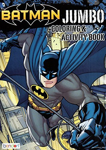Batman - Coloring and Activity Book - 96 Pages]()