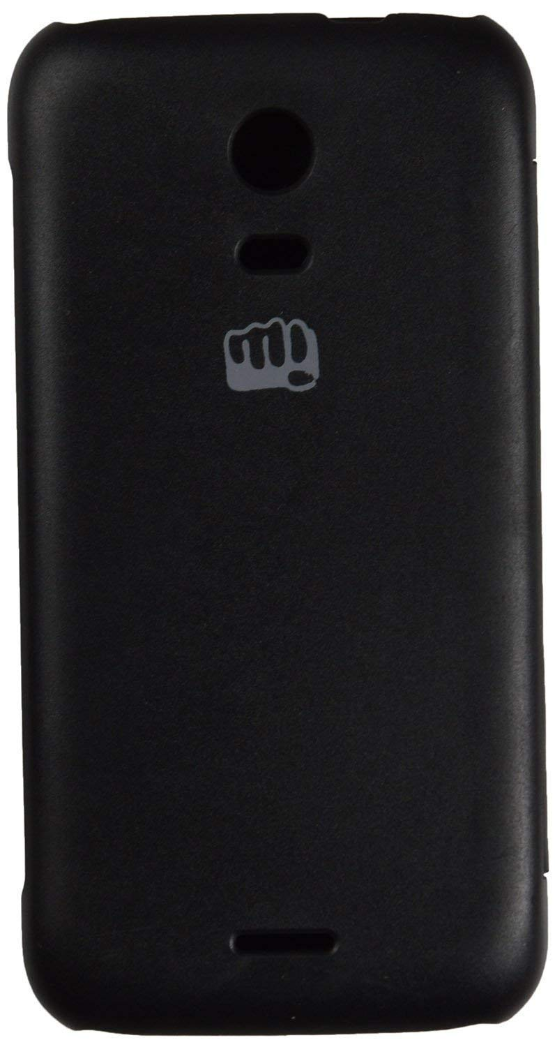 huge selection of d13bf 21302 Generic Flip Cover for Micromax Canvas Turbo Mini A200 (Black)
