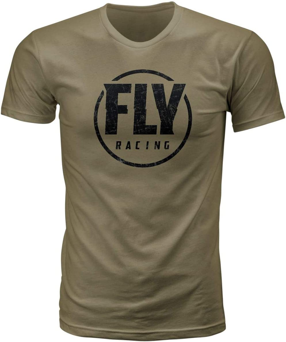 Fly Racing Coaster T-Shirt Medium Black