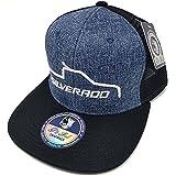 MrKap Mexico Silverado Truck Hat Hip Hop Snapback Mesh Cap (Blue)