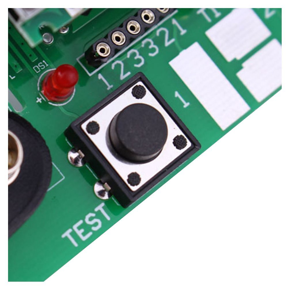TOOGOO(R) version of inductor-capacitor ESR meter DIY MG328 multifunction test Module