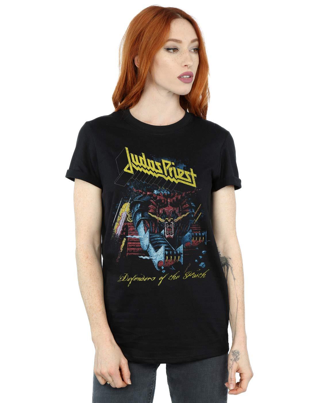 Judas Priest S Defender Of Faith Boyfriend Shirts
