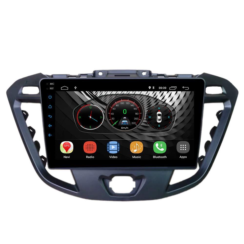 Tourneo Custom 2012+ UGAR EX10 9 inch Android 10 Car Stereo Radio Plus 11-491S Fascia Kit for FORD Transit Custom