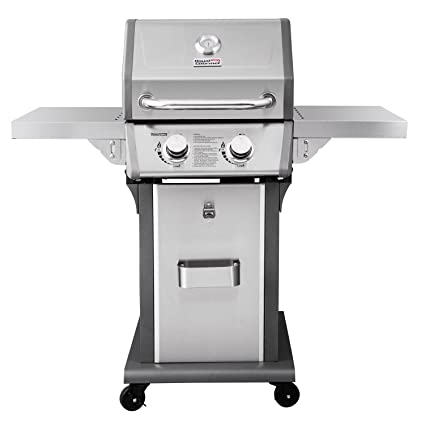 Royal Gourmet 2 Burner Patio Propane Gas Grill (Stainless Steel)