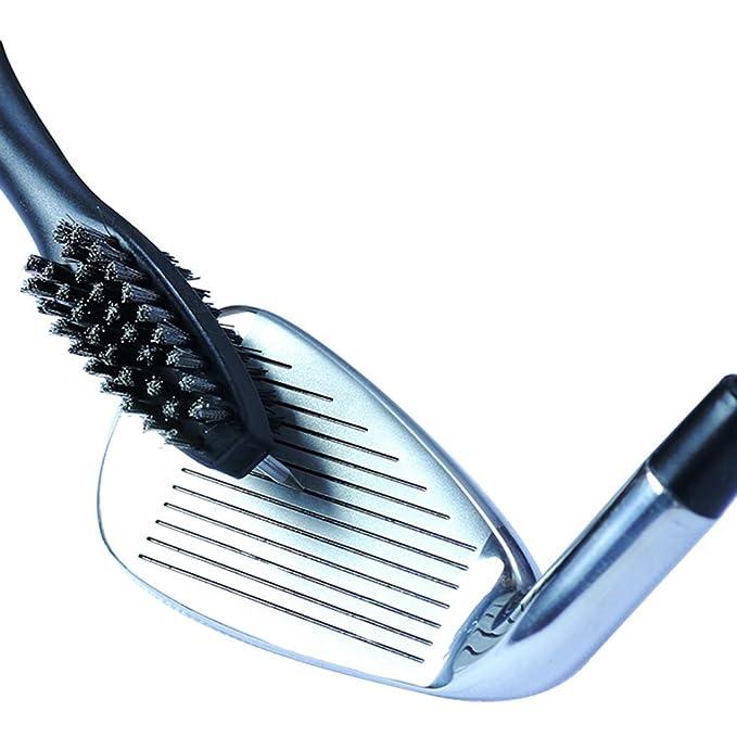 Cepillo de doble cara limpiador de palos de golf de Winomo ...