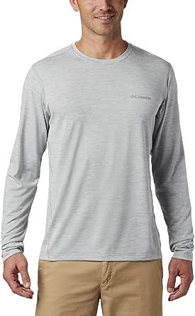 Columbia Men's Deschutes Runner Long Sleeve Shirt, Moisture-Wicking, Reflective