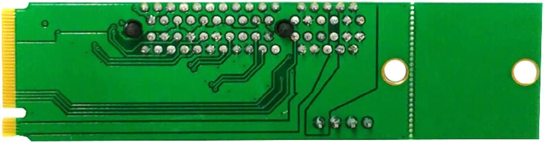 IDS Home NGFF to PCI-E X4 Adapter Card Part Green