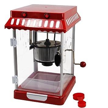 Systafex palomitero palomitas automática Máquina para hacer palomitas como en las pantallas de cine, iluminación interior: Amazon.es: Hogar