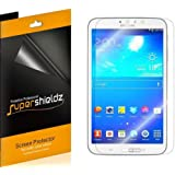 [3-Pack] Supershieldz- High Definition Clear Screen Protector for Samsung Galaxy Tab 3 8.0 8 inch + Lifetime Replacements Warranty [3-PACK] - Retail Packaging