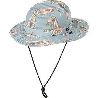 c26435fb0cb Amazon.com  RVCA Luke Pelletier Boonie Hat Blue One Size  Clothing