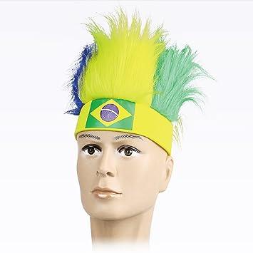 Pelucas para el pelo, 2018 Rusia Mundial Copa de Fútbol Fútbol Fans sombreros con bandera
