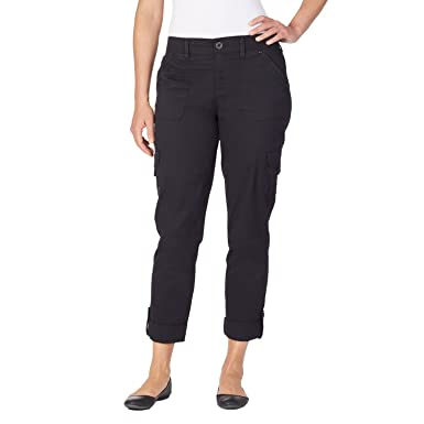 Gloria Vanderbilt Women's Penelope Cargo Pant, Petite and Plus ...