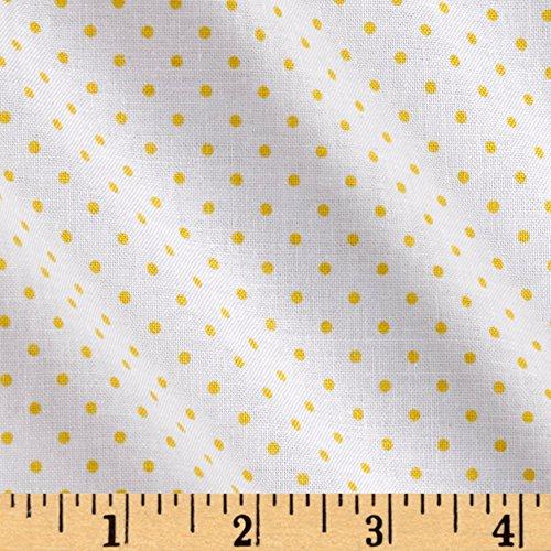 (Riley Blake Designs Riley Blake Swiss Dot Yellow Fabric By The Yard)