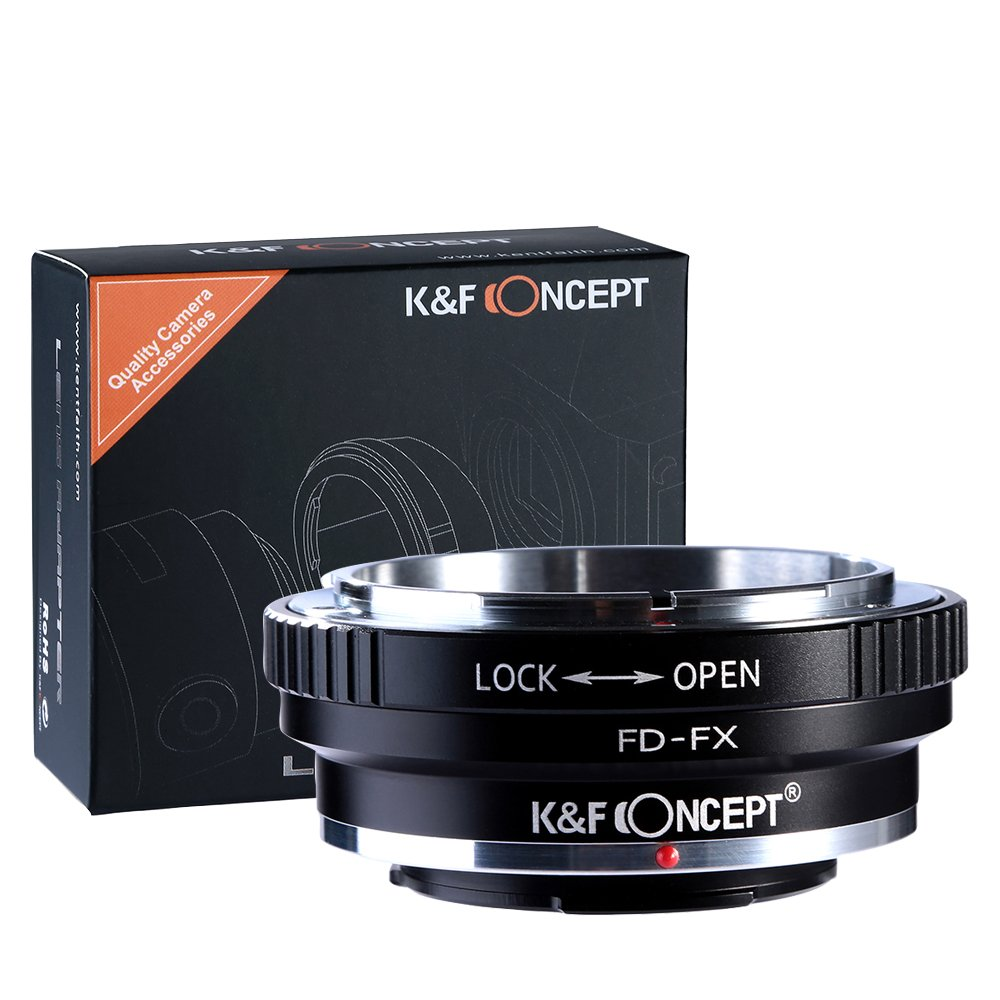K&F Concept Lens Mount Adapter Canon FD Lens to FX Mount Camera Adapter by K&F Concept