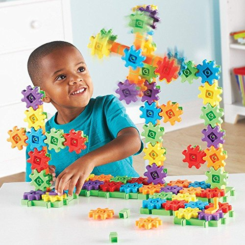 Learning Resources Gears! Gears! Gears! Super Building Set, 150 Pieces