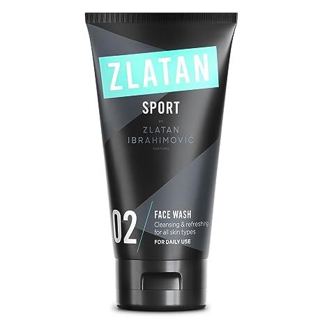 Zlatan SPORT Limpieza Facial para Hombres - Vegan - Anti Enrojecimiento de Aceites Naturales - Cuidado