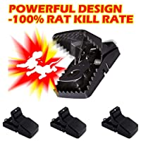 Mousetrap 1 Humane Mice Rat Mouse Traps-That Work Sensitive Power Rodent Kill Mo...